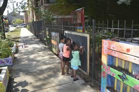 Urban Gardens Chicago How Community Gardens And Block Associations Help Stem Urban