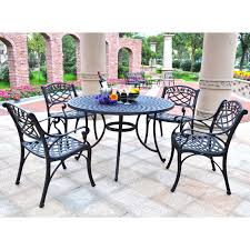 Aluminum Outdoor Patio Furniture by Crosley Sedona 42 In Cast Aluminum Outdoor Dining Set With High