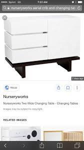 Nurseryworks Changing Table Nurseryworks Aerial Crib Changing Table Set Baby In