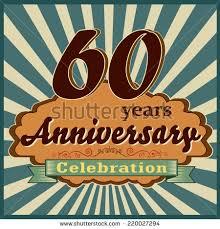 celebrating 60 years birthday 60 year happy birthday card balloons stock vector 202908016
