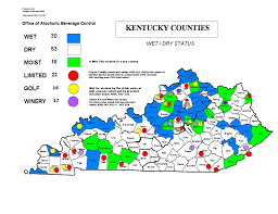 Kentucky Map With Cities Kentucky Dry County Map U2013 Buua