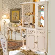 style living room with white lockers hall cabinet continental