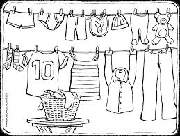 Washing Machine Coloring Page - clothes colouring pages kiddi kleurprenten