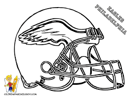 coloring philadelphia eagles coloring pages