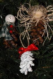 pine cone tree ornaments lovetoknow
