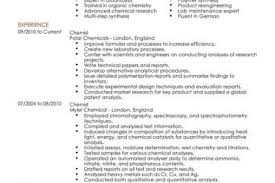Chemical Engineering Internship Resume Samples by Chemist Resume Examples Reentrycorps