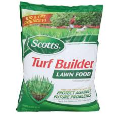 Sq Ft To Ft Scotts 12 6 Lb 5 000 Sq Ft Turf Builder Lawn Food 22305 The