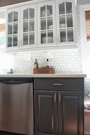 granite countertop white kitchen cabinets black granite four