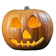 light up pumpkins for halloween creepy light up pumpkin halloween ii amazon co uk toys games