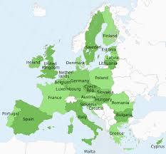 Map Of Romania In Europe by European Peer To Peer Lending Has It Gone Mainstream Or Is The