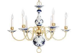 Blue Delft Chandelier Delft Chandelier Janney S Collection
