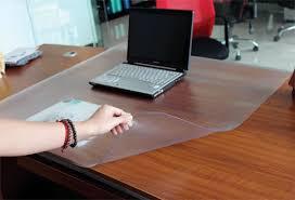 Plastic Office Desk Plastic Desk Protector Onsingularity