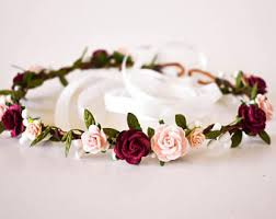 flower accessories wedding hair accessories etsy