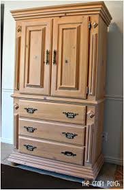 Wood Armoire Wardrobe Clothing Armoire Clothing Armoire With Optional Shelf The