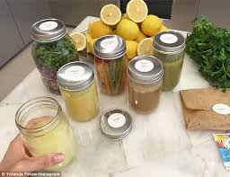 yolanda foster is the master cleanse detoxing with superfoods yolanda foster begins extreme week long