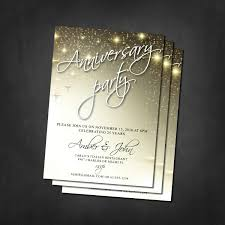 anniversary party invitations anniversary invitations anniversary party invites 25th 30th