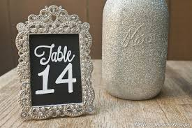 silver frames for wedding table numbers chalkboard table numbers in silver vintage style frames set of 10