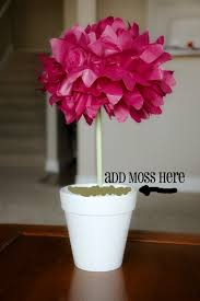 nannygoat pom pom topiary centerpiece