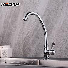 rubinetto water aliexpress buy kedah single handle brass kitchen faucets