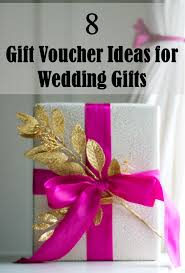 wedding gift card ideas 8 gift voucher ideas for wedding gifts frugal2fab