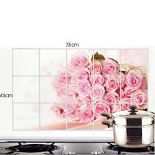 buy bulfyss kitchen wall cover stickers water proof oil proof and buy bulfyss kitchen wall cover stickers water proof oil proof and hot proof aluminum foil designs vary as per stock availability online at low prices in