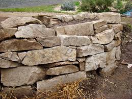 Stone For Garden Walls by Dry Stacked Stone Wall Aprovechonaturalbuilders
