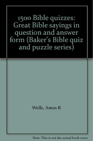 buy 1500 bible quizzes great bible sayings in question and answer