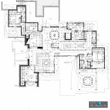Luxury Floor Plans With Pictures Floor Plan U2013 Cala Rossa Luxury Villa U2013 Porto Vecchio Corsica