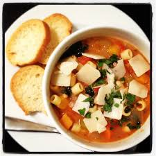 ina u0027s winter minestrone with garlic bruschetta onions and chocolate