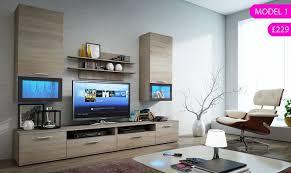Wall Units Living Room Furniture Modern Set Of Living Room Furniture Wall Tv Unit