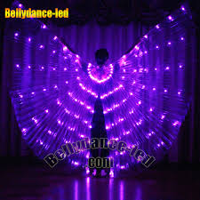 purple led glow lights wings belly buy now