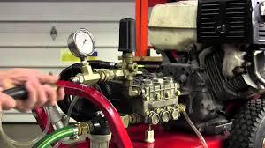 pressure washer unloader valve youtube