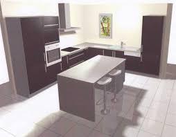 meuble pour ilot central cuisine meuble central cuisine photo cuisine moderne avec ilot central et