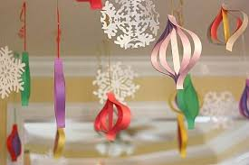 Homemade Christmas Decorations With Paper Christmas Handmade Paper Craft Decorations Family Holiday Net