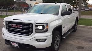 2018 gmc terrain white 2018 gmc sierra 1500 slt all terrain spray on liner heated seats