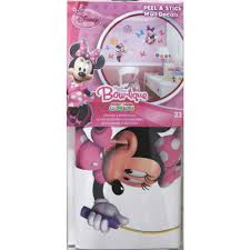 disney minnie mouse bow tique girls wall decals eonshoppee minnie mouse bow tique girls wall decals