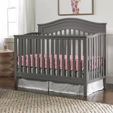 Fisher Price Convertible Crib Fisher Price Aubree Convertible Crib In Grey