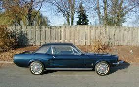 1967 blue mustang 1967 mustang colors