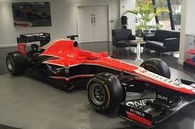 formula 1 car for sale collapsed f1 team marussia set to sell race cars and all