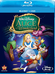 amazon com alice in wonderland two disc 60th anniversary blu ray