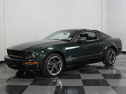 2009 Black Mustang Gt Highland Green 2009 Ford Mustang Bullitt Gt For Sale Mcg Marketplace