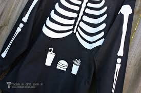 skeleton halloween costumes for kids our last minute costumes pregnant skeleton and matching