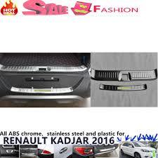 renault kadjar trunk free shipping for renault kadjar 2016 outside inside rear bumper