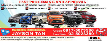 trading in a brand new car toyota philippines big sale home