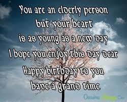 happy birthday wishes for elderly birthday happy