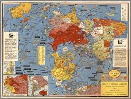 World War I Alliances Map by Cold War Map Gallery California Geographic Alliance