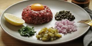 tartare cuisine steak tartare recipe lifestyle