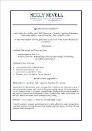 no work experience resume template resume template sles free resume templates for students with no