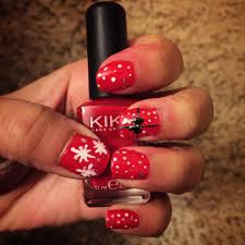 red nails with silver design image collections nail art designs