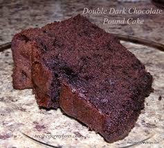 recipes for my boys double dark chocolate pound cake